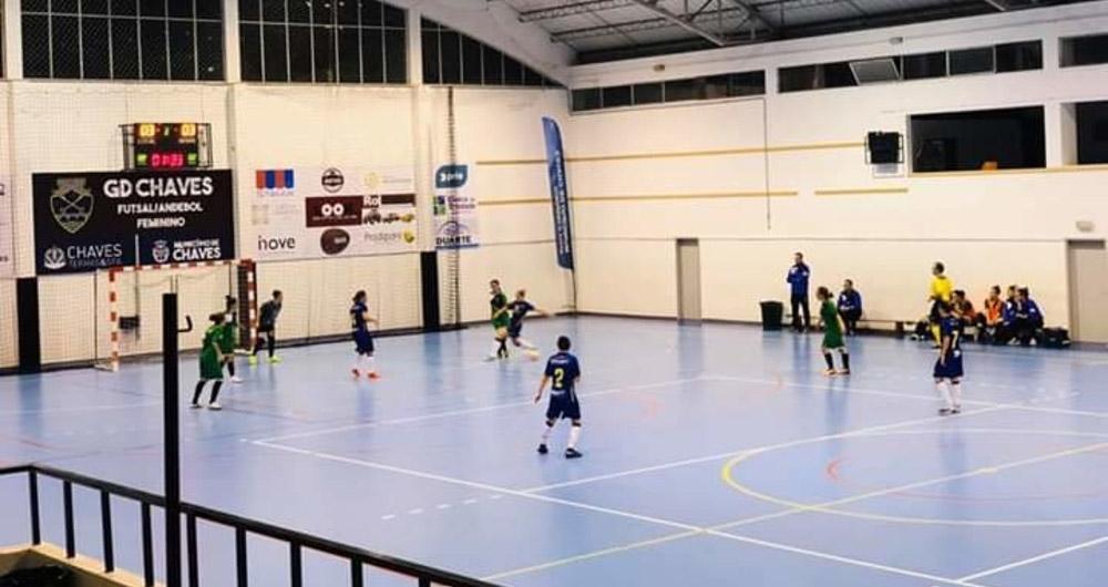 Resultados do Fim-de-Semana: Futebol com resultados negativos, Futsal Feminino consegue pontuar