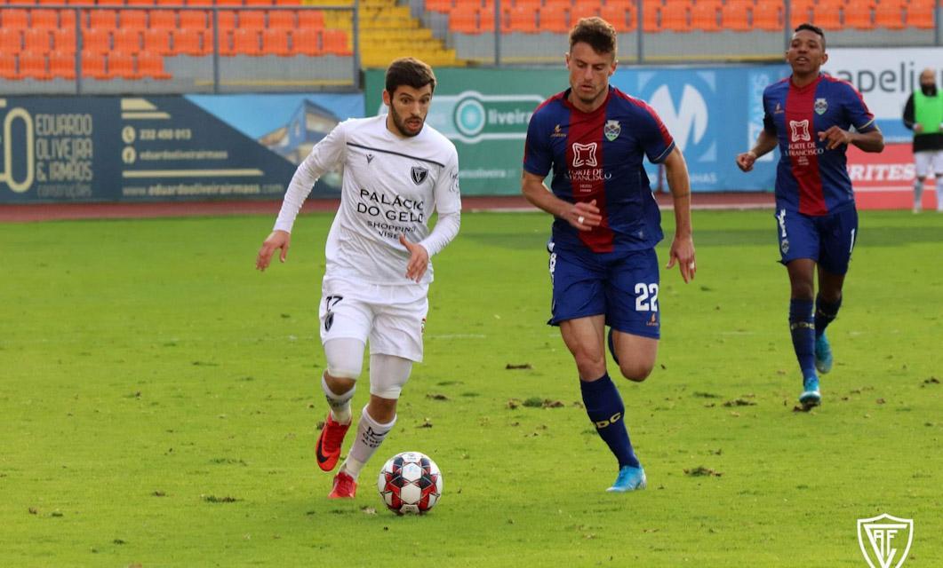 Ac. Viseu 1-0 GD Chaves: Desportivo sem rumo está fora da Taça