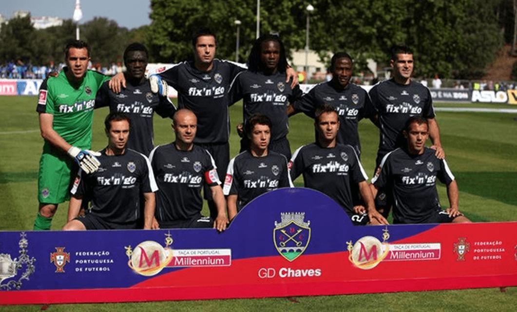 Há 10 anos… O GD Chaves jogava a final da Taça de Portugal
