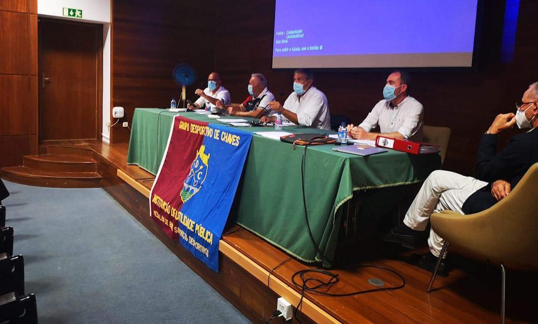 AG do GD Chaves: Bruno fica, formação sem autonomia e quotas não mudam