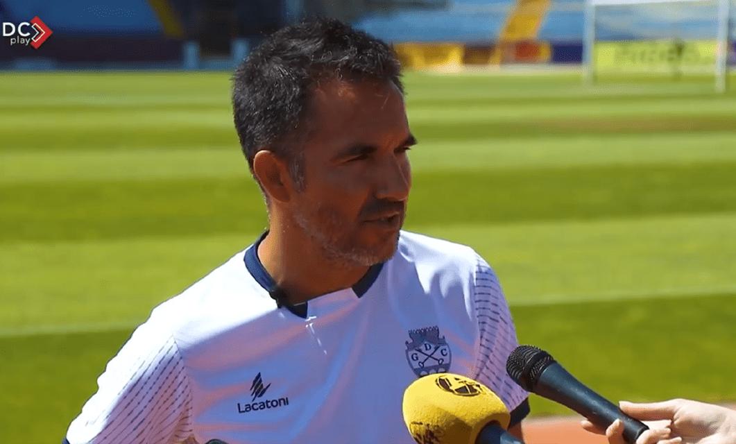 Carlos Pinto: «Objetivo é entrar para ganhar em todos os jogos»