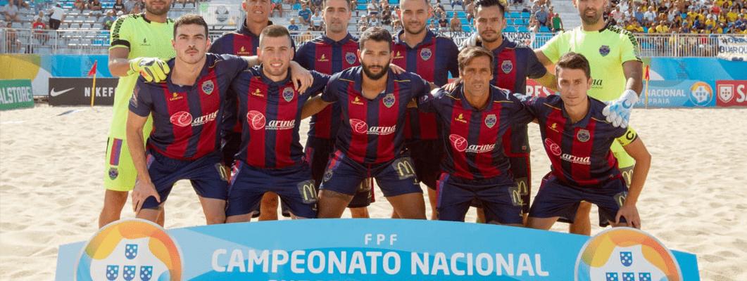 Futebol Praia do GD Chaves luta por uma época de sucesso na Elite nacional