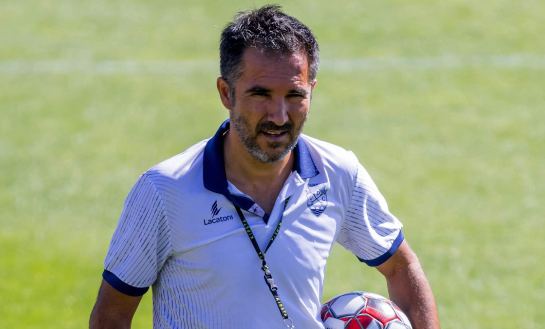 Carlos Pinto com cinco jogadores em gestão de esforço
