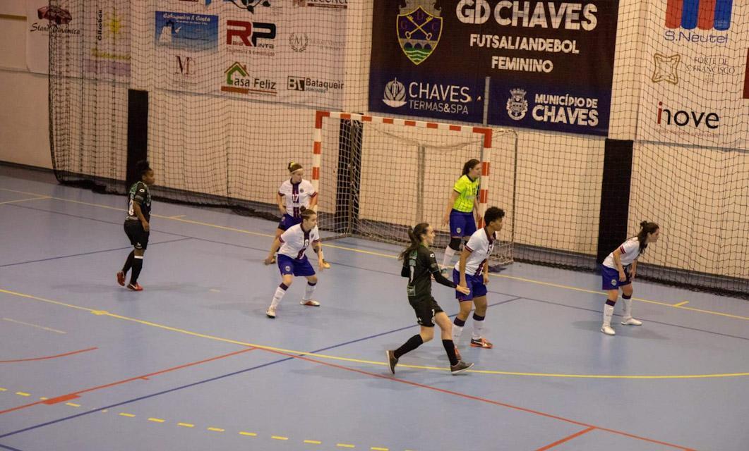 Futsal Feminino do GD Chaves inicia 7.ª temporada na I Divisão a 24 de outubro