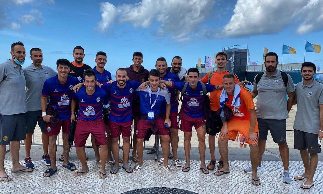 Futebol Praia: GD Chaves vence Leixões SC no arranque da Divisão Elite