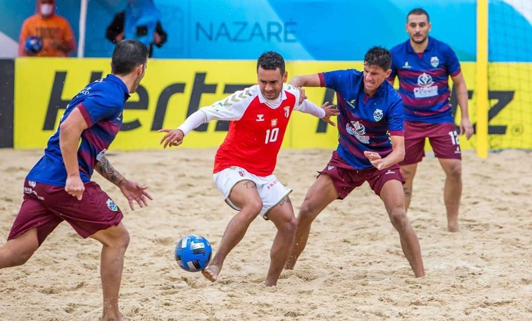 Futebol Praia: GD Chaves deu luta, mas não evitou derrota com o SC Braga