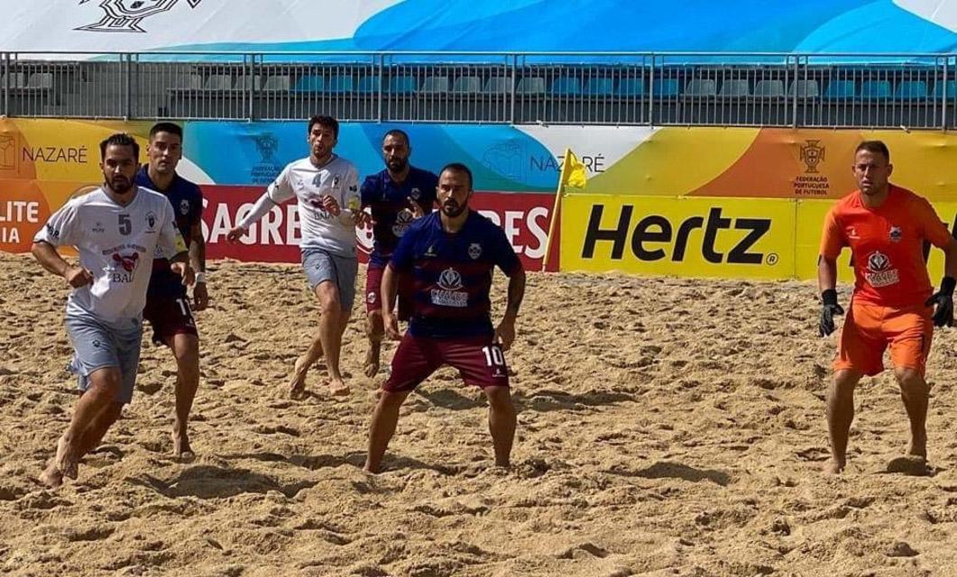 Futebol Praia: GD Chaves aplica «chapa 9» ao Alfarim