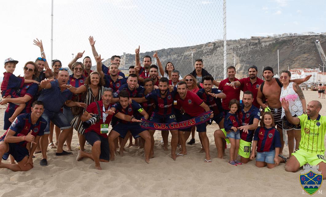 Futebol Praia: GD Chaves-Leixões SC na estreia flaviense na Divisão Elite