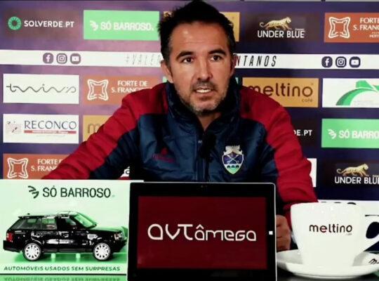 Carlos Pinto não espera facilidades frente à UD Oliveirense