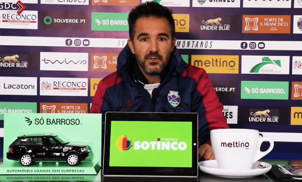 Carlos Pinto: «FC Vizela é forte, mas vamos honrar a camisola»