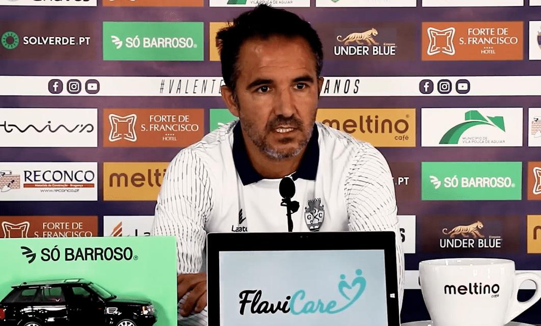 Carlos Pinto: Reforços «não estão disponíveis» para jogo com SC Espinho
