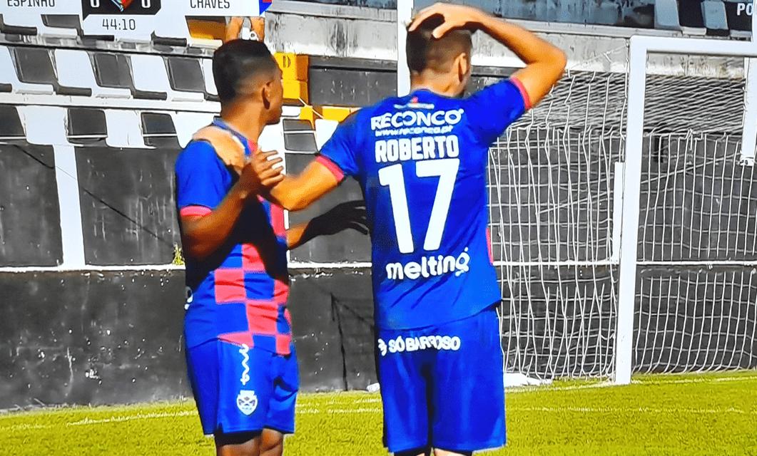 SC Espinho 1-0 GD Chaves: Desportivo está fora da Taça de Portugal