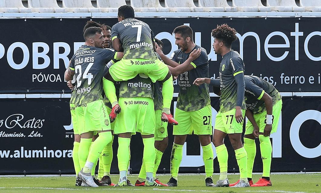 Varzim SC 1-3 GD Chaves: Dez minutos de luxo no regresso às vitórias
