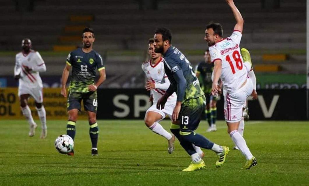 UD Vilafranquense 0-1 GD Chaves: Batxi coloca flavienses na rota da subida