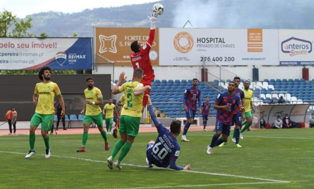 GD Chaves 1-1 CD Mafra: Flavienses voltam a marcar passo