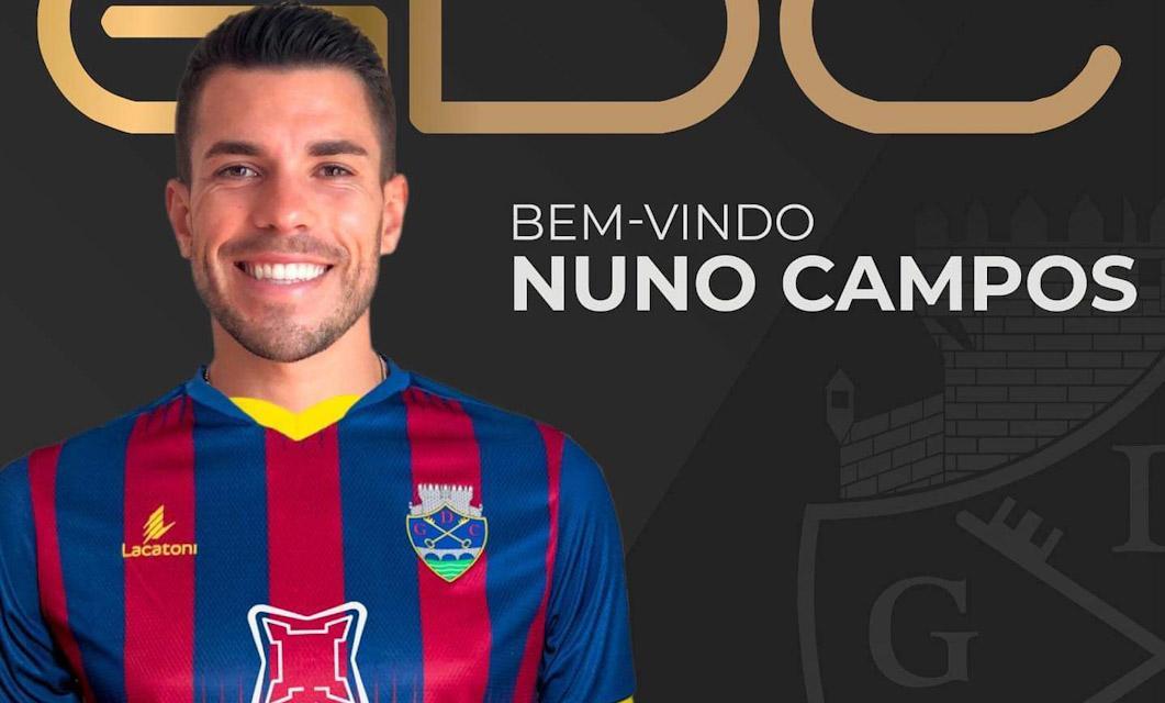 OFICIAL: Nuno Campos é o primeiro reforço do GD Chaves para 2020/2021