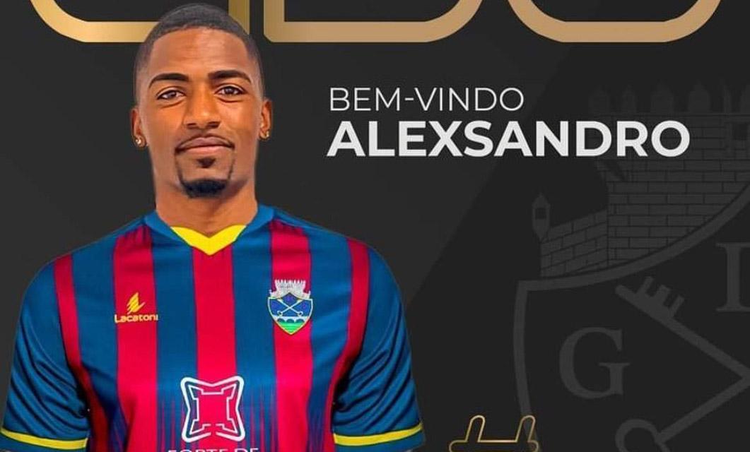 Alexsandro Ribeiro chega do Amora FC para vestir de azul-grená