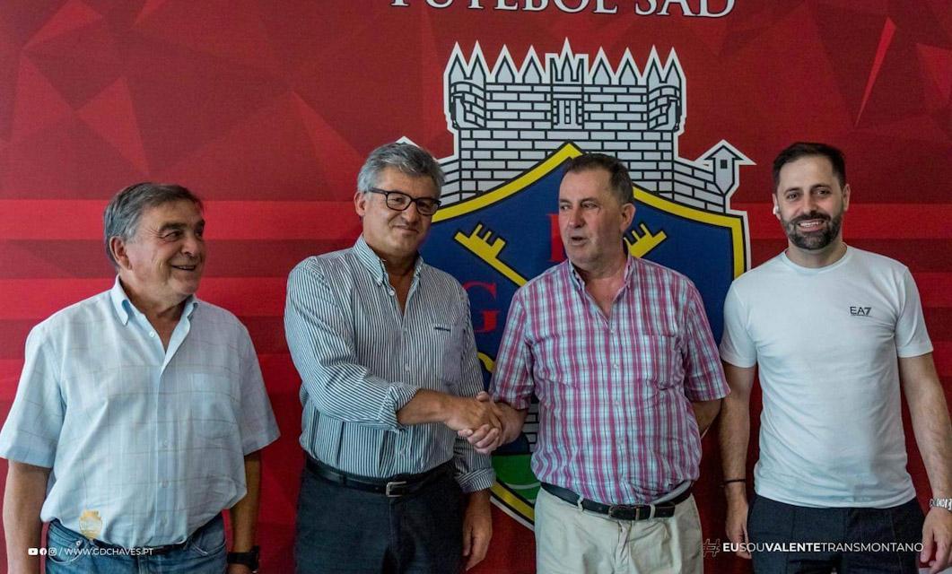 GD Chaves anuncia parceria e pode rodar jogadores no Pedras Salgadas
