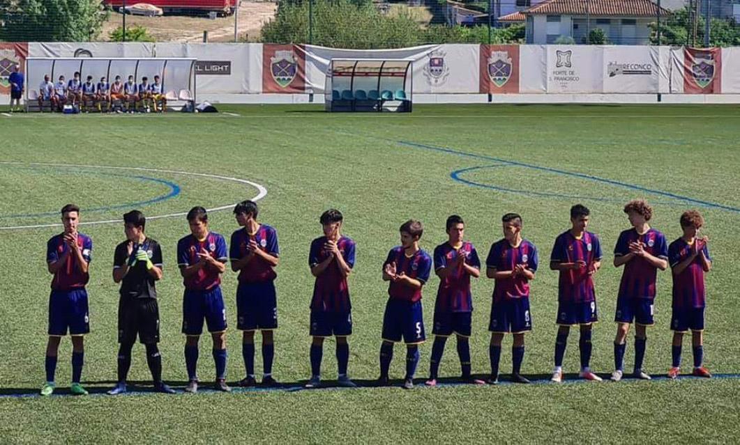 Juvenis goleiam GD Bragança no arranque do campeonato