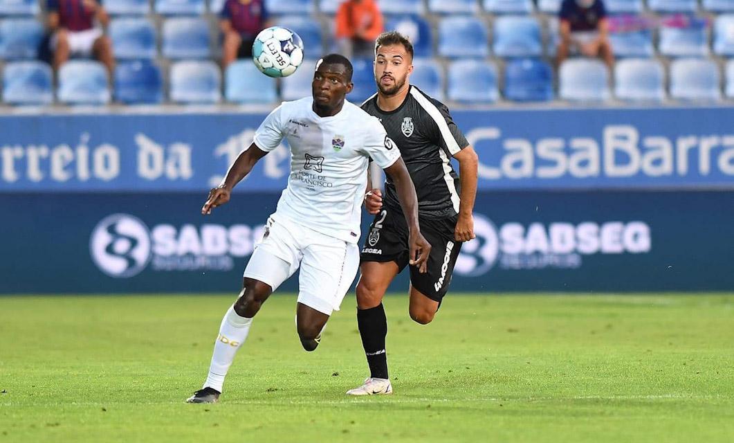 Bruno Langa é o terceiro jogador do GD Chaves convocado para a seleção