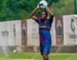 Bruno Langa regressou aos treinos no GD Chaves