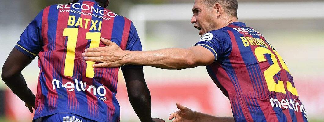 João Batxi marcou o golo do empate do GD Chaves