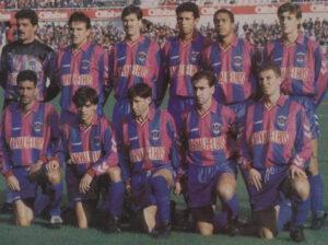 Um onze cheio de jogadores históricos do GD Chaves como Lino, Filgueira, David ou Paulo Alexandre