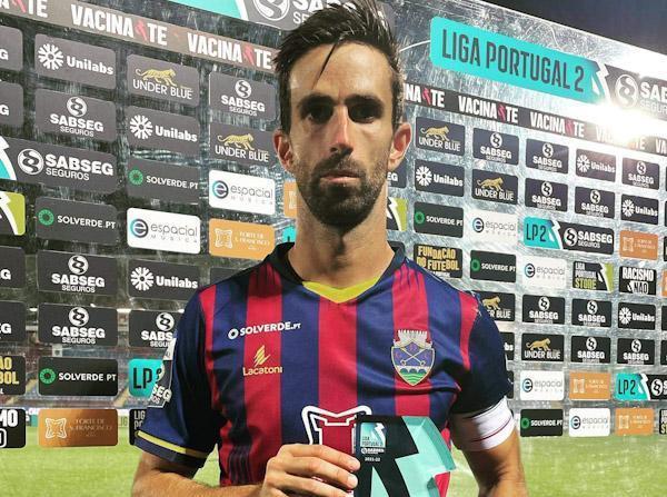 Nuno Coelho foi eleito o homem-do-jogo do GD Chaves